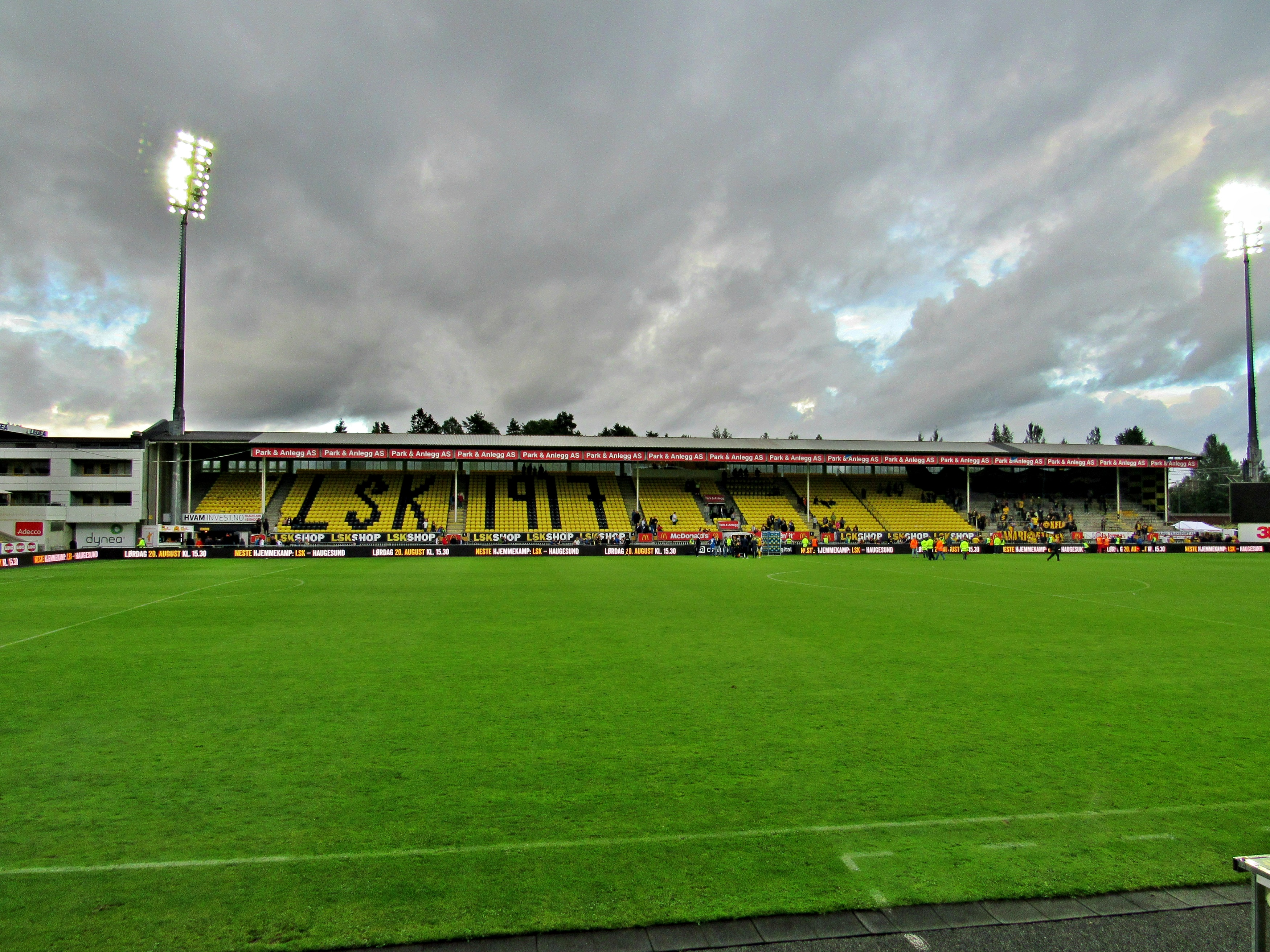 Lillestr 248 M Sk Rosenborg Bk 06 08 2016 Football Weekends