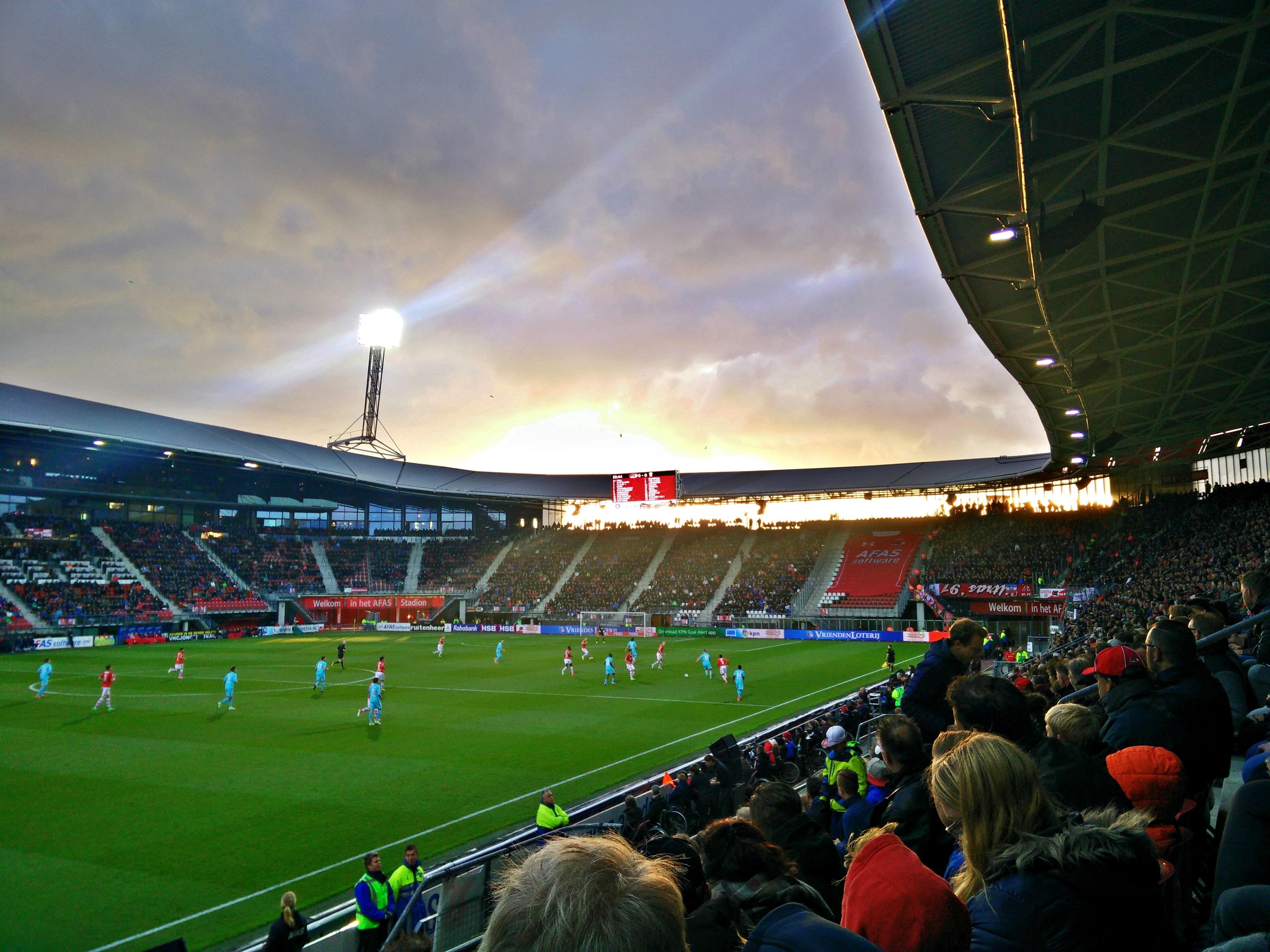 AZ – FC Twente 22-04-2017 – Football – Weekends